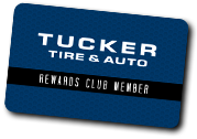 Become a Tucker Tire Rewards Card Member!